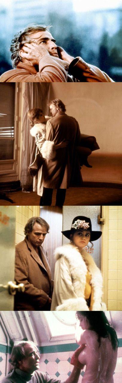 Marlon Brando & Maria Schneider in Last Tango in Paris (Bernardo Bertolucci, 1972)