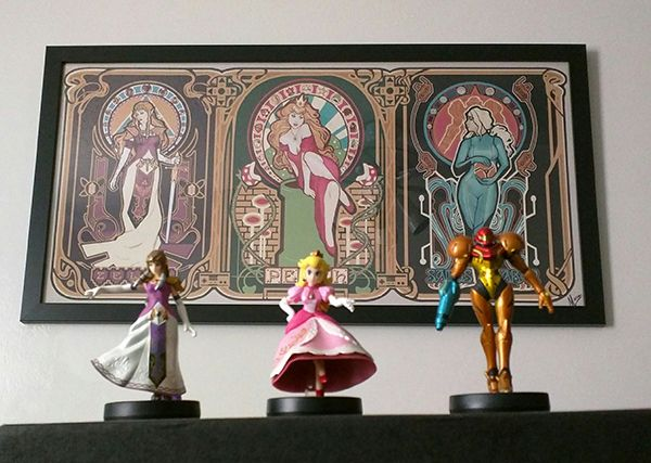 Matching The Toys On Your Shelves With The Art On Your Walls Is Becoming A Thing