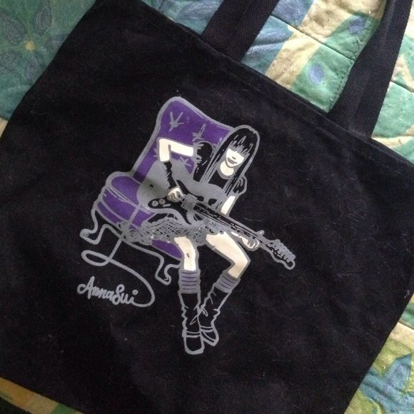 Anna Sui tote bag So cute and perfect size Anna Sui Bags Totes
