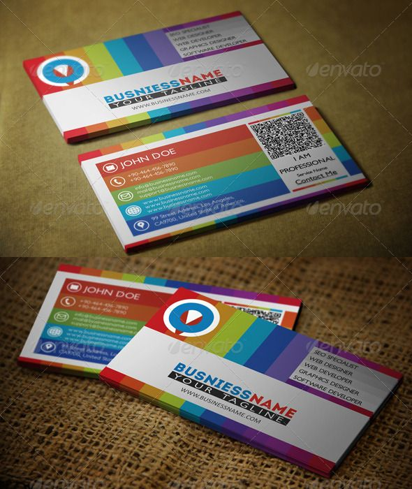 7 best business card designs images on pinterest print templates multiple colors business card business card templatesbusiness softwareonline reheart Gallery
