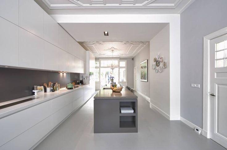 ... Herenhuis Keuken op Pinterest - Herenhuizen, Huizen en Open Keukens