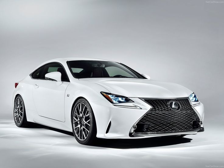 Marvelous White Lexus RC F