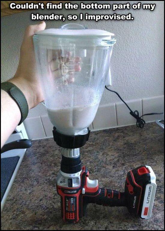 desi problem solving, home made blender