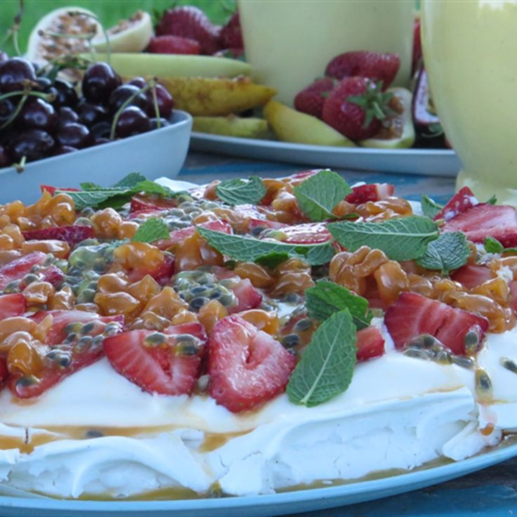 Try this Pavlova recipe by Chef Paul West . This recipe is from the show River Cottage Australia.