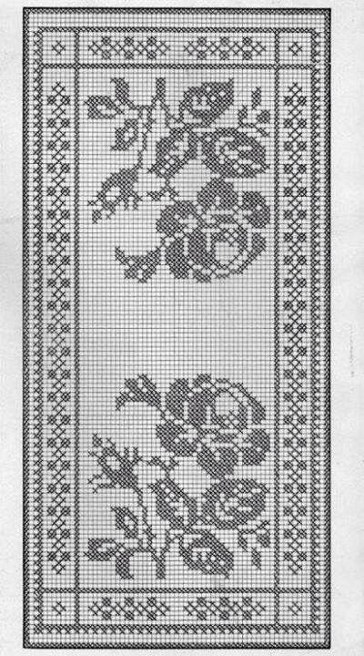 1355 best images about centros y caminos de mesa on for Centro de mesa a crochet