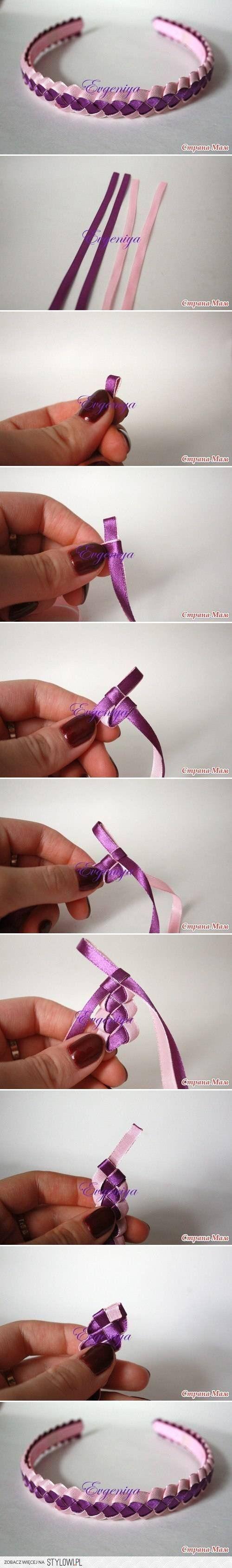 DIY 4 Strips Weaving DIY Projects | UsefulDIY.com na Stylowi.pl