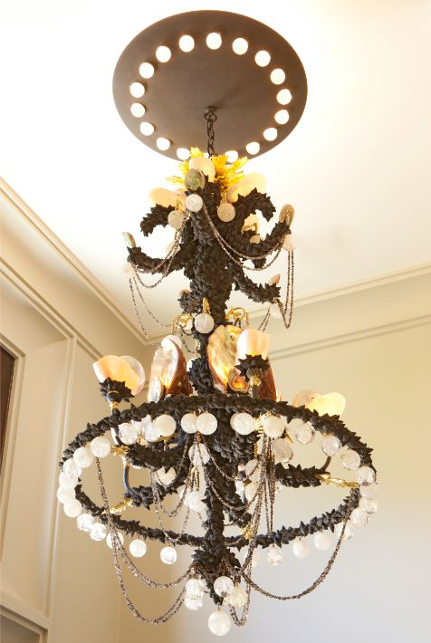 199 Best Seashell Chandeliers And Candelabras Images On