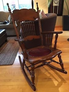 Antique Rocking Chair (circa 1950)