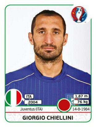 EURO 2016 - Giorgio Chiellini - Italia