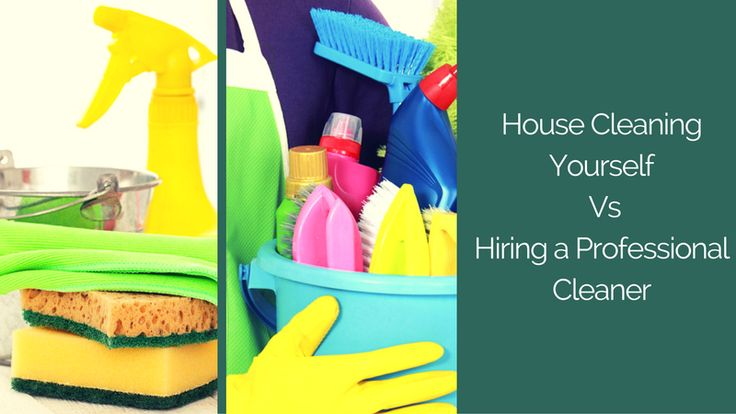 House Cleaning Yourself Vs Hiring a Professional Cleaner