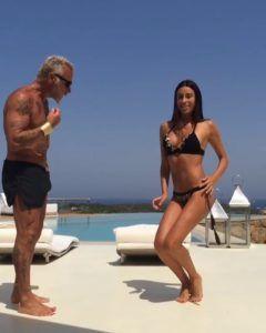 Gianluca Vacchi e Giorgia Gabriele - Balletto sexy ,l'allenamento quotidiano del guru Gianluca Vacchi.