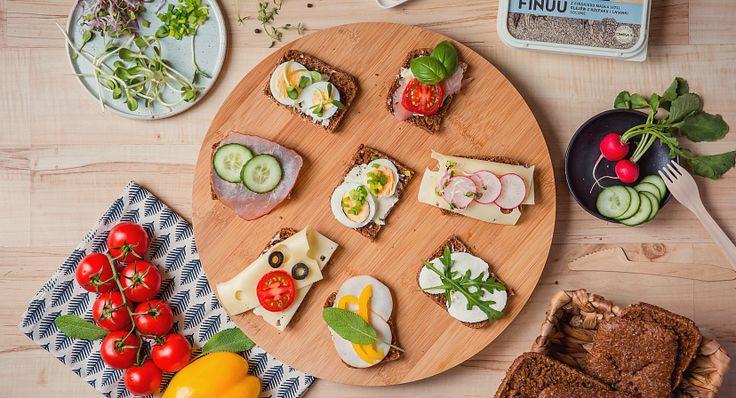 Pomysły na pyszne i zdrowe kanapki dla całej rodziny! #finuu #finuupl #kanapki #sandwich #inspiracje #Kulinaria #masło #butter #ziola
