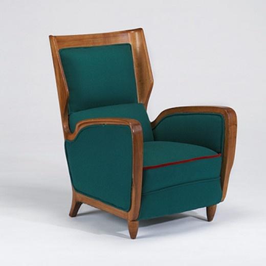 Gio ponti lounge chair cassina italy c 1949 italian for Cassina italy