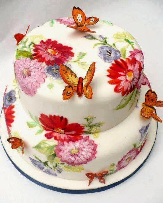 """Kunstipärane ja """"musikaalne"""" tort...."""