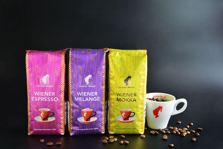 Julius Meinl Kaffee - Wiener Melange, Espresso und Mokka