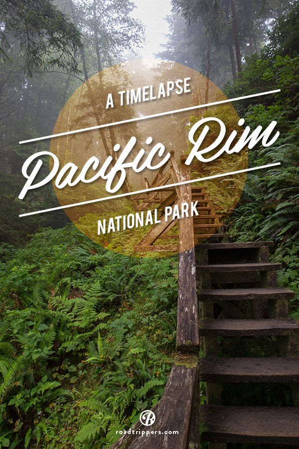 A timelapse video of Pacific Rim National Park. This park is filled with beautiful beaches and lush rain forests. Bring your surfboard!