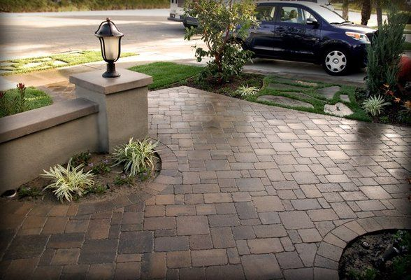 Belgard paver patterns we used belgard pavers dublin for Pinterest patio pavers