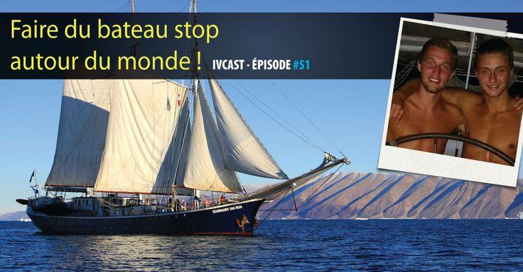 Alexis et Baptiste ont voyagé autour du monde en utilisant le bateau stop. De superbes expériences dont ils nous parlent dans un épisode qui va vous donner envie de prendre[...]