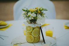 Ρουστικ γαμος με κιτρινο χρωμα | Ειρηνη & Φωτης - EverAfter