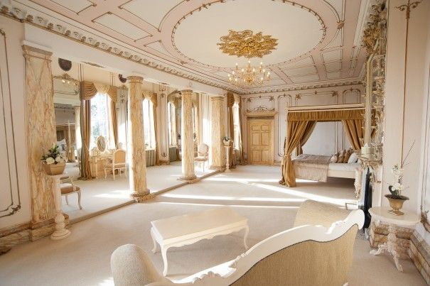 Introducing the amazing Rococco Bridal Suite at Gosfield Hall