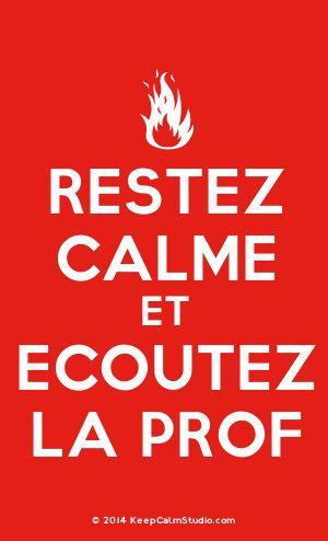 [Campfire] Restez Calme Et Ecoutez La Prof