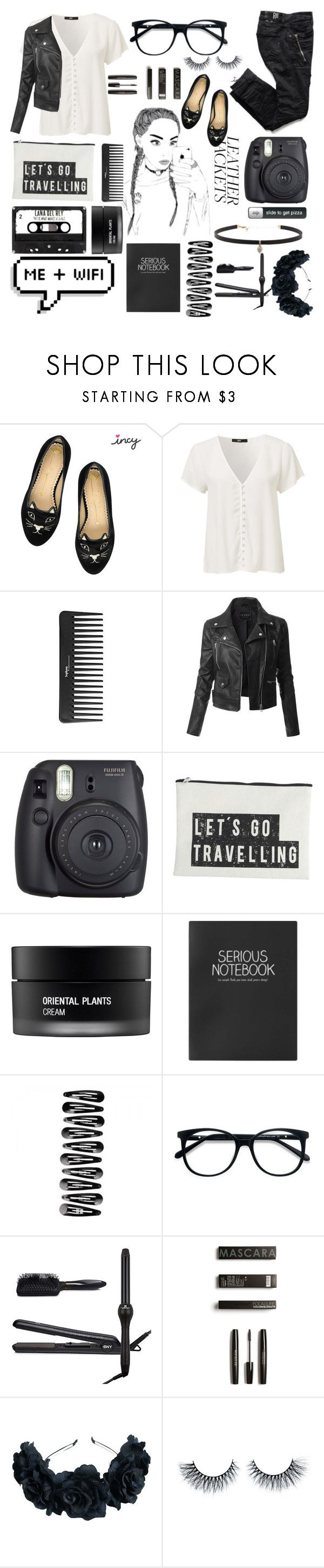 """""""The Basics"""" by janysha2369 ❤ liked on Polyvore featuring Sephora Collection, LE3NO, Fuji, House Doctor, Koh Gen Do, Topshop, EyeBuyDirect.com, Brilliance New York and Carbon & Hyde"""