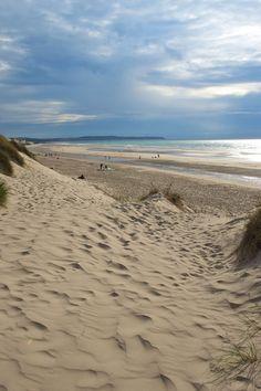 La plage de Bray-Dunes est bordée de massifs dunaires