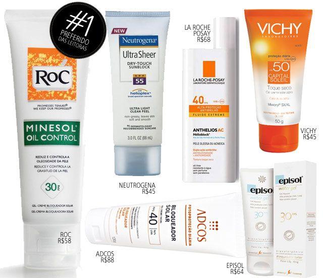 Coisas De Diva » Protetor solar facial: os preferidos das leitoras