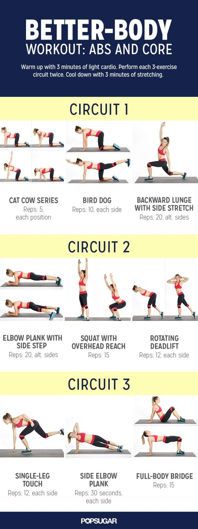 Get a better body now, starting with this workout circuit that targets your abs and core. You'll hit all the major muscles, and there are no boring crunches required!