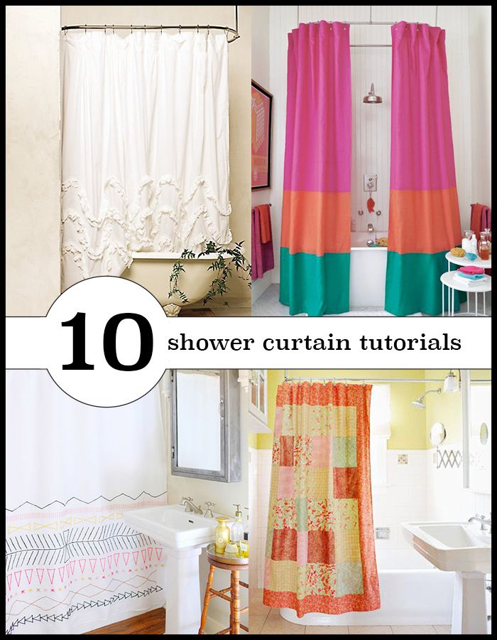 830 best jugando con telas images on pinterest sewing ideas 10 lovely shower curtains you can make yourself sew or no sew tutorials solutioingenieria Gallery