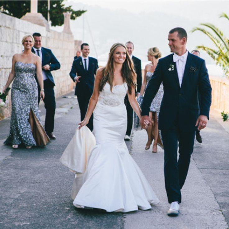 Платья невесты металлические эш длинные блестками длиной до пола сплит сторона платья для свадебных гостей BMD168