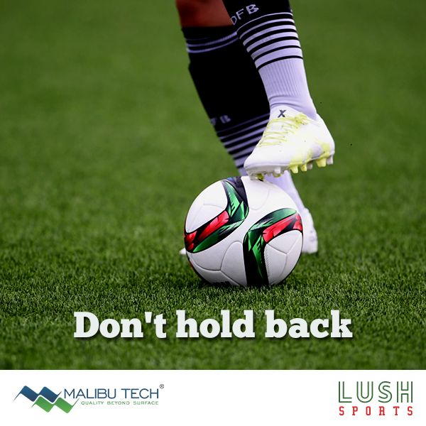 Don't hold back while making bold choices on the field. Synthetic Grass Sports experience allows you to make smarter and bolder choices on field as it's safer, smoother & reduces your chances of injury.    #MalibuTech #Sports #LushSports