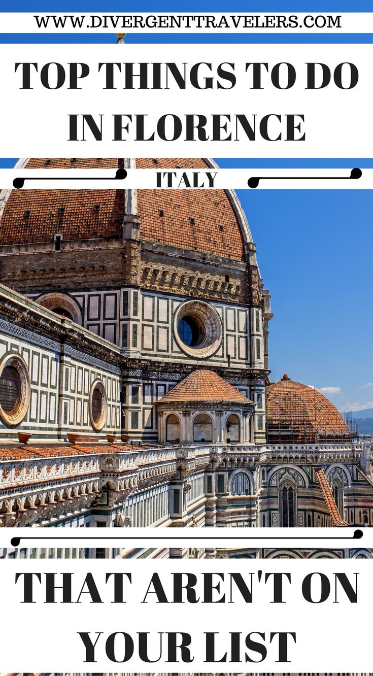 Top things to do in Florence Italy that aren't on your list. Our Florence Italy travel guide goest into more than just the typical must see and things to do in Florence. We hi-light adventures that aren't on your list, that should be. Click to read 3 Days in Florence – What to do in Florence #Italy #Florence #Travelguide