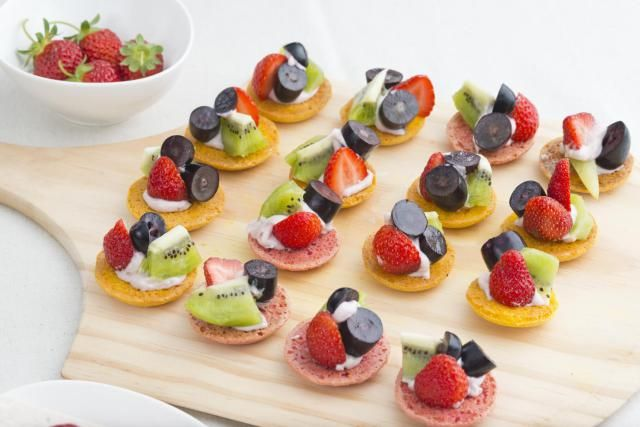 Turn up to your next tea party with these delightful homemade glazed fruit tarts. Sweet, buttery shortcrust tarts are filled with creme patisserie and topped with strawberries, mandarins, kiwi fruit, blueberries and raspberries.