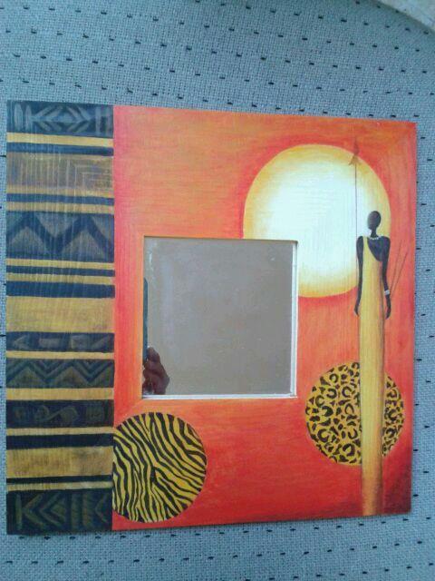 M s de 25 ideas incre bles sobre marcos de espejos - Pintar marcos de cuadros ...