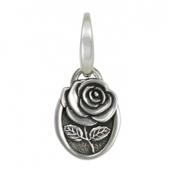 Cystic Fibrosis Rose Charm
