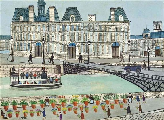 Louis Vivin • Autodidakt der Naiven Malerei