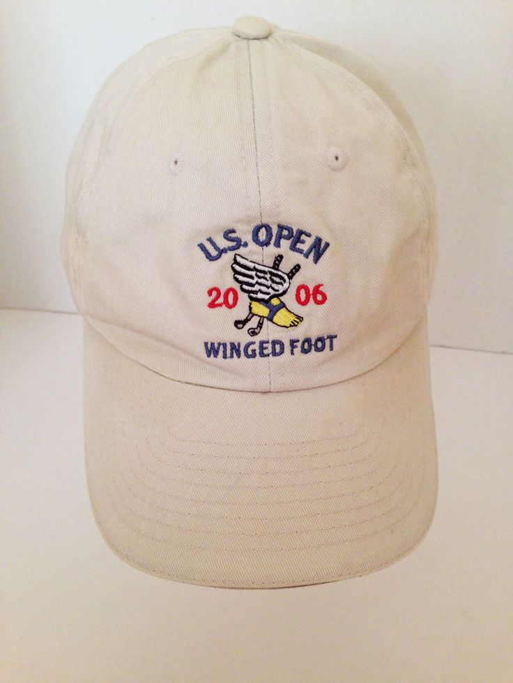 US Open 2006 The Olympic Club Winged Foot USGA Golf Sports Adjustable Strap Cap #USGA #BaseballCap
