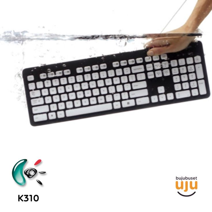 Logitech Keyboard K310 Washable Keyboard  IDR 410.000