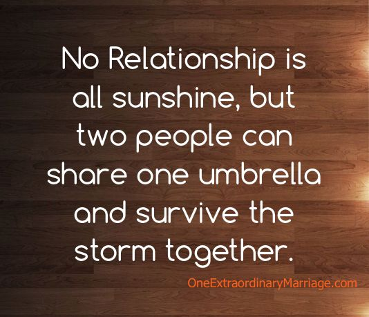 3 months no relationship is all sunshine