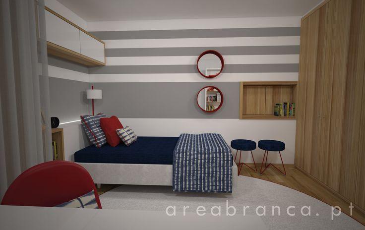 Quarto Infantil #Areabranca #DesignInteriores #InteriorDesign #Bedrooms #KidsBedroom #ModernDesign