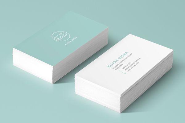Personal Brand Identity by Eliana Dedda, via Behance