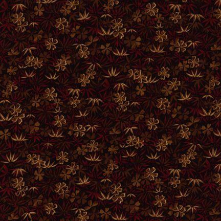Robert Kaufman Fabrics: EV-2830-4 BLACK from Oriental Traditions Original Collection