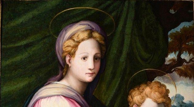 Madonna con Bambino, Francesco di Girolamo dal Prato
