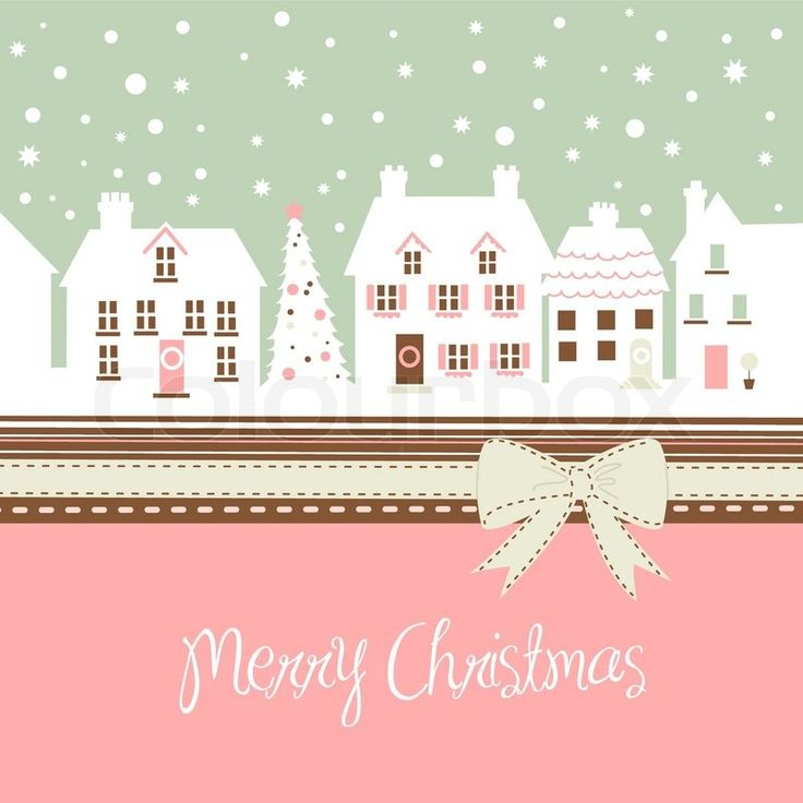 83 Best Christmas Cards Images On Pinterest Christmas Greetings   Christmas  Card Templates Word