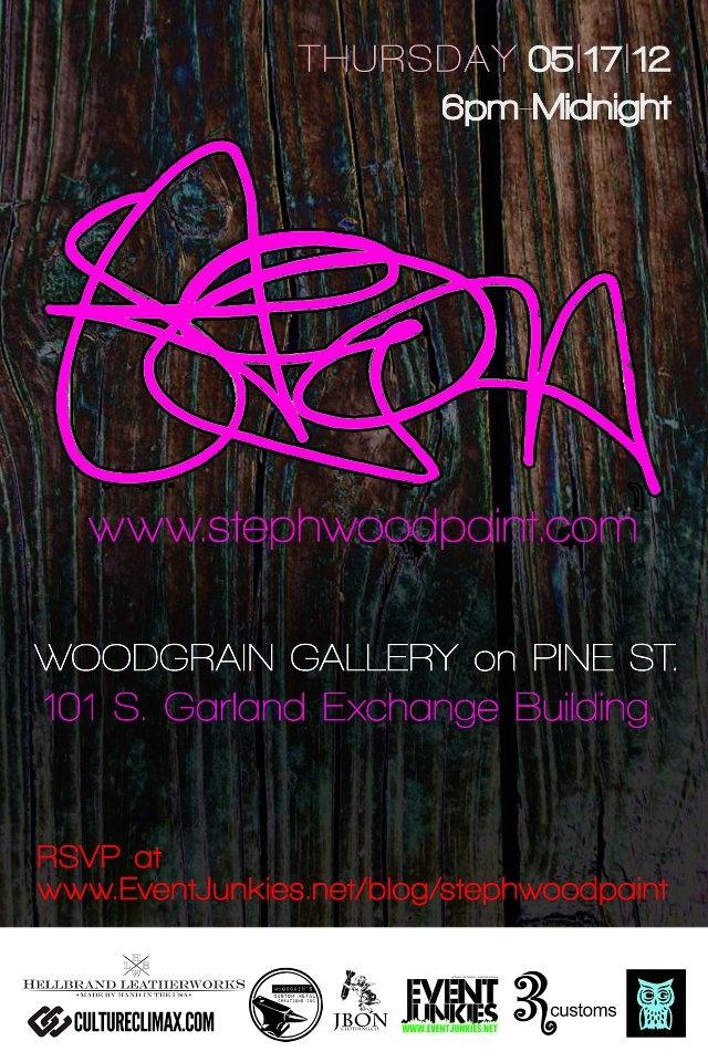 gallery opening invitation