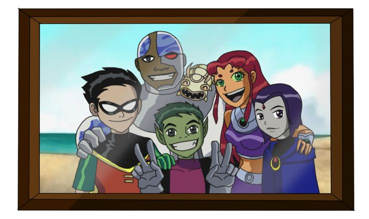 Teen Titans Family Picture By Y-Cleptdeviantartcom On -9255