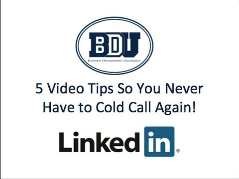 5 LinkedIn Tips so You Never Have to Cold Call Again