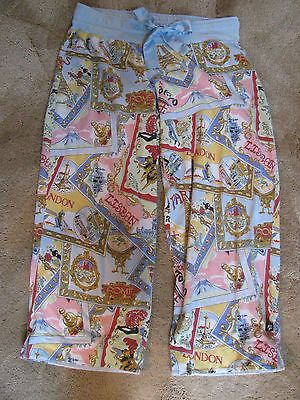 """NICK & NORA Women's Size M Pajama Bottoms """"Travel Seals"""" - BUY NOW ONLY 12.99"""