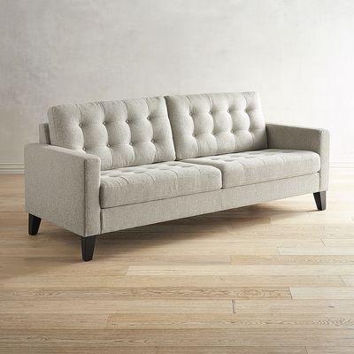 Nyle Natural Tweed Sofa | Pier 1 Imports
